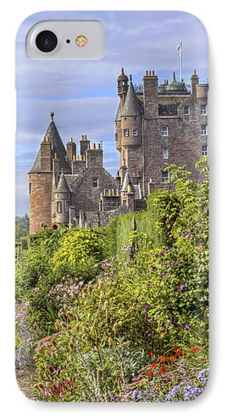 The Garden Of Glamis Castle IPhone Case by Jason Politte