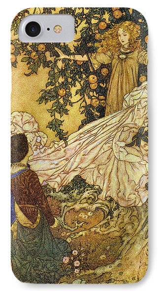 The Garden Of Paradise IIi Phone Case by Edmund Dulac