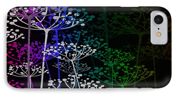 The Garden Of Your Mind Rainbow 1 IPhone Case by Angelina Vick
