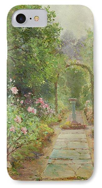 The Garden Path IPhone Case by Ernest Walbourn