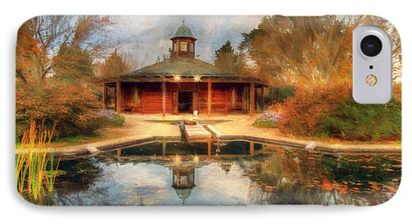 The Garden Pavilion IPhone Case by Darren Fisher