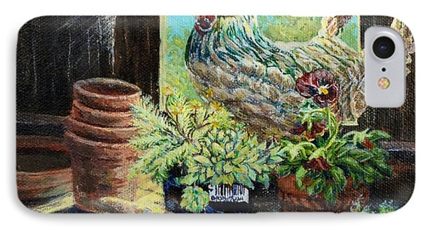 The Garden Shed IPhone Case by Gail Allen
