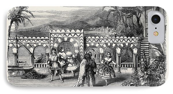 The Gardens Of The Palace Of The Dey Of Algiers A Scene IPhone Case