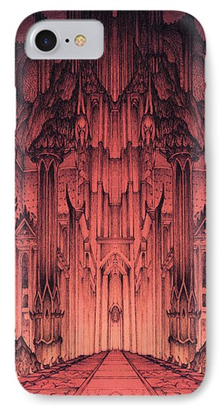 The Gates Of Barad Dur IPhone Case by Curtiss Shaffer