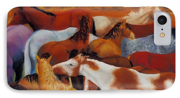 The Gathering IPhone Case by Frances Marino