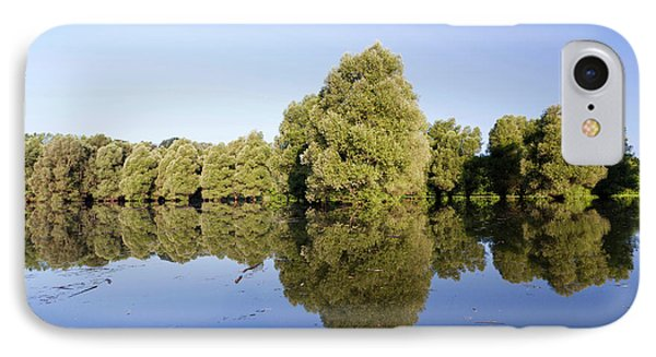 The Gemenc Forest In The Danube-drava IPhone Case by Martin Zwick