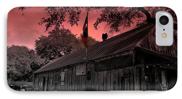 The General Store In Luckenbach Texas Phone Case by Susanne Van Hulst