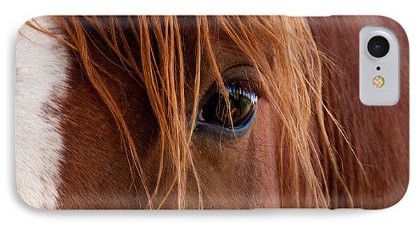 The Gentle Eye  IPhone Case by Eric Rundle