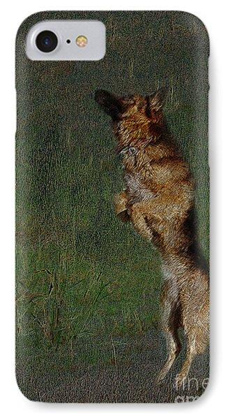 The German Shepherd Great Dog Phone Case by Manjot Singh Sachdeva