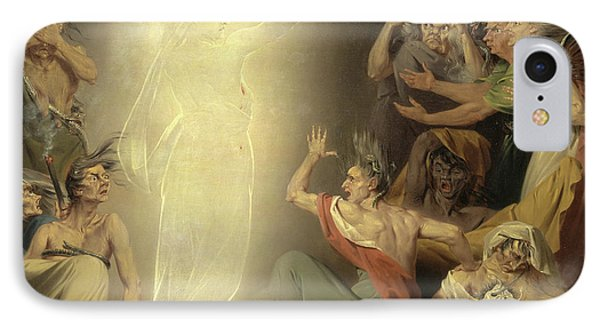 The Ghost Of Clytemnestra Awakening The Furies Signed IPhone Case by Litz Collection