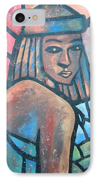 IPhone Case featuring the painting The Ghost Of Happiness by AC Williams