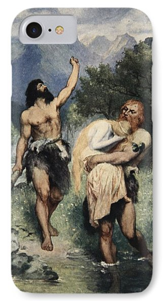 The Giants Bore Freia Away, From The Phone Case by Ferdinand Leeke
