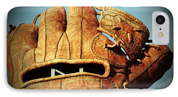 The Giants Glove Phone Case by Holly Blunkall