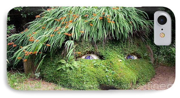 The Giant's Head Heligan Cornwall IPhone Case by Richard Brookes