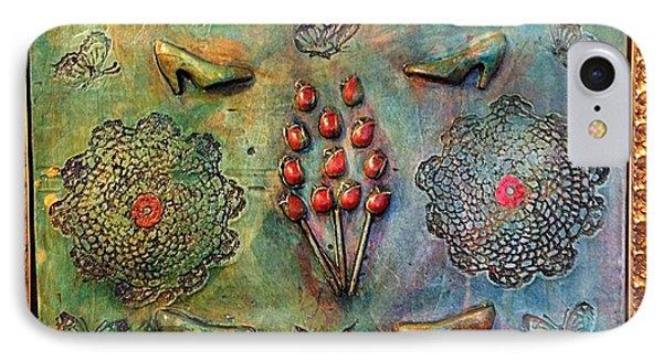 The Gift By Alfredo Garcia Art Phone Case by Alfredo Garcia