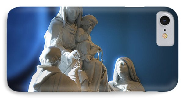 The Gift Of The Rosaries Statue Phone Case by Thomas Woolworth