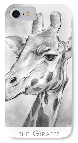 The Giraffe IPhone Case by Greg Joens