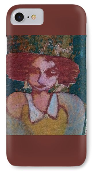 The Girl Waits IPhone Case by Catherine Redmayne