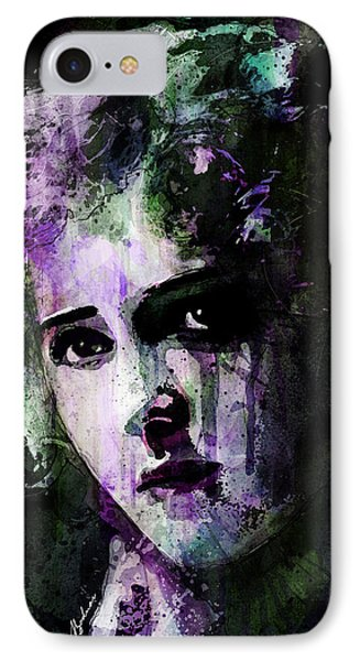 The Girl With The Curls IPhone Case