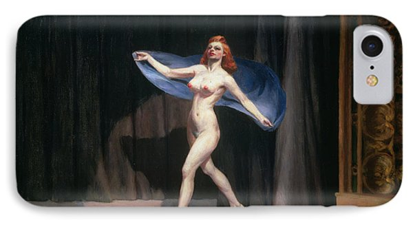 The Girlie Show IPhone Case by Edward Hopper
