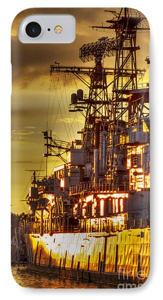 The Glory Days -  Uss Sullivans IPhone Case by Darleen Stry