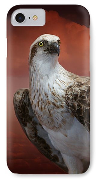 The Glory Of An Eagle IPhone Case by Holly Kempe