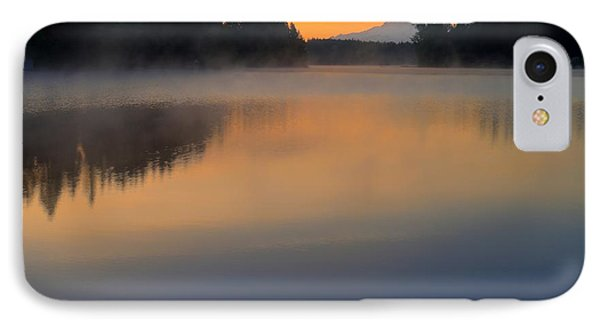 The Glow At Dawn IPhone Case by Peter Mooyman