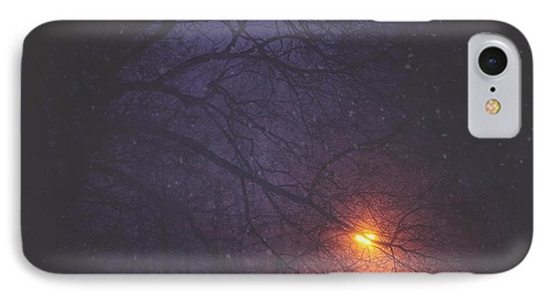 The Glow Of Snow IPhone Case by Carrie Ann Grippo-Pike