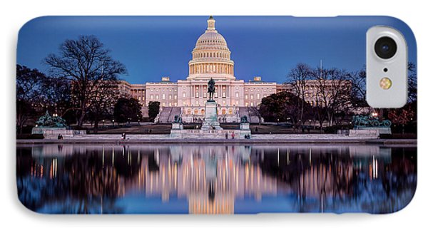 The Glow Of The Capitol IPhone Case