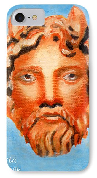 The God Jupiter Or Zeus.  IPhone Case by Augusta Stylianou