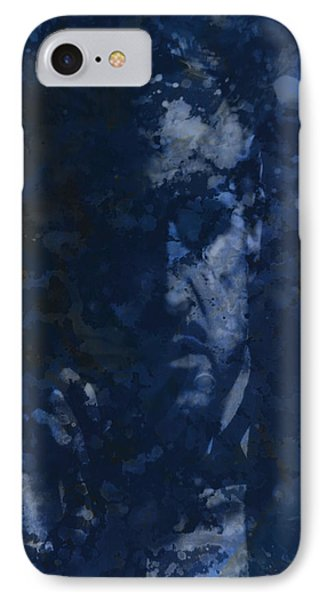 The Godfather Blue Splats IPhone Case