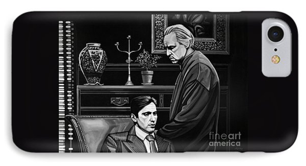 The Godfather  IPhone Case by Paul Meijering