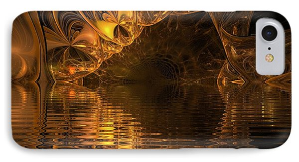 The Golden Cave IPhone Case