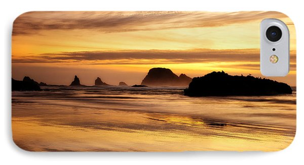 The Golden Coast Phone Case by Darren  White