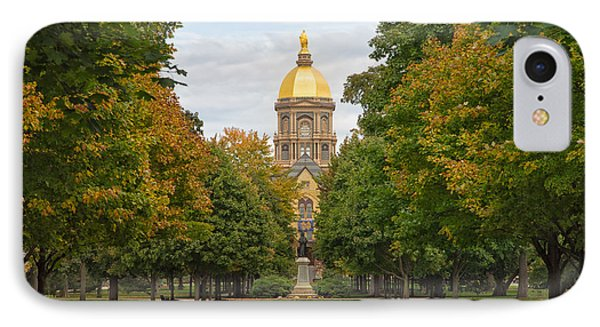 The Golden Dome Of Notre Dame IPhone Case