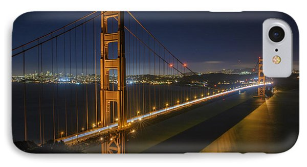 The Golden Gate Bridge IPhone Case by Rick Berk