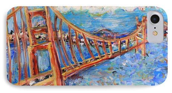The Golden Gate IPhone Case by Jason Gluskin