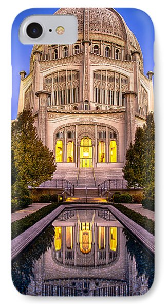 The Golden Jewel - Baha'i Temple  IPhone Case by Michael  Bennett