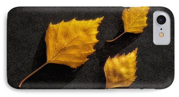 The Golden Leaves Phone Case by Veikko Suikkanen