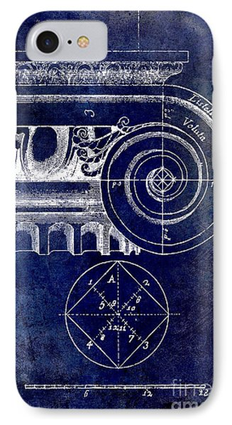 The Golden Mean Blue IPhone Case by Jon Neidert