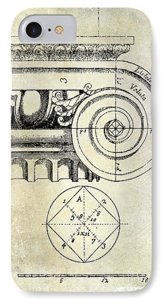 The Golden Mean IPhone Case by Jon Neidert