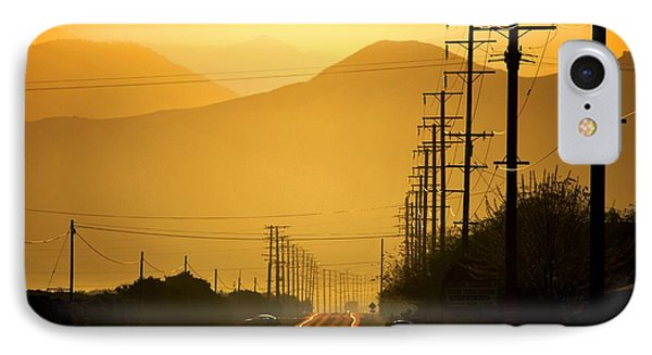 IPhone Case featuring the photograph The Golden Road by Matt Harang