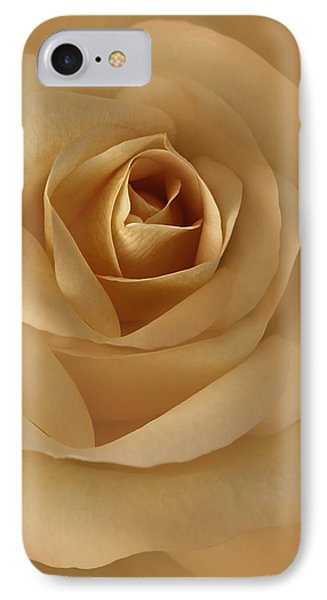 The Golden Rose Flower IPhone Case by Jennie Marie Schell