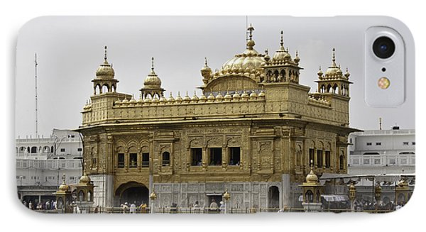 The Golden Temple In Amritsar IPhone Case