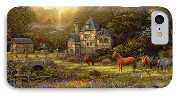 The Golden Valley IPhone Case by Chuck Pinson