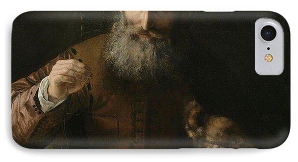 The Goldweigher IPhone Case by Karel van der Pluym