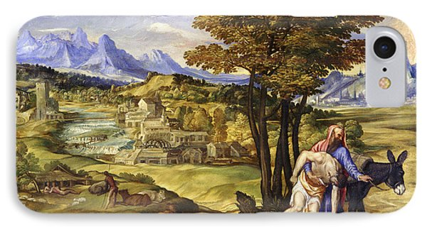 The Good Samaritan IPhone Case by Domenico Campagnola