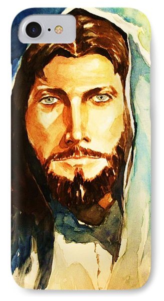 IPhone Case featuring the painting The Good Shepherd by Al Brown