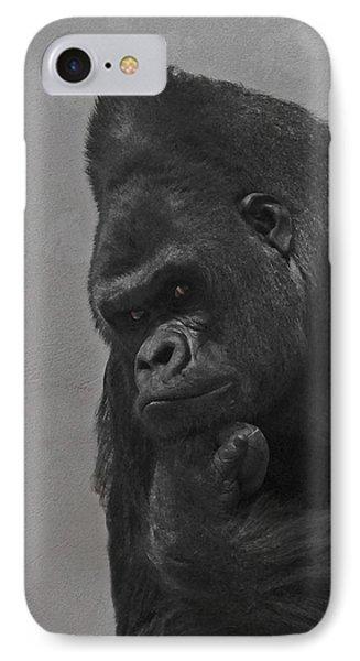 The Gorilla IPhone Case by Ernie Echols