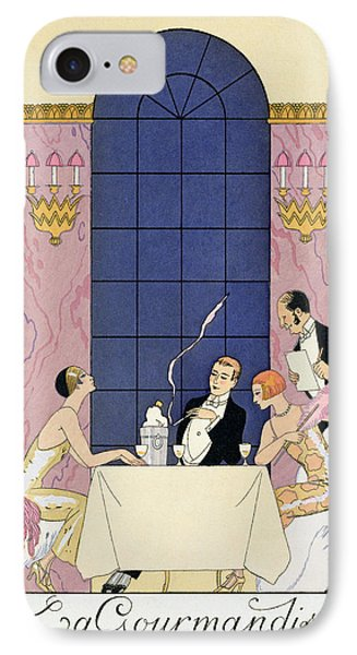 The Gourmands Phone Case by Georges Barbier